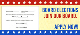 Board Candidate Applications Due